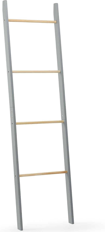VonHaus - Toallero de escalera con 4 rieles para colgar - Moderno mueble de dormitorio o baño gris: Amazon.es: Bricolaje y herramientas