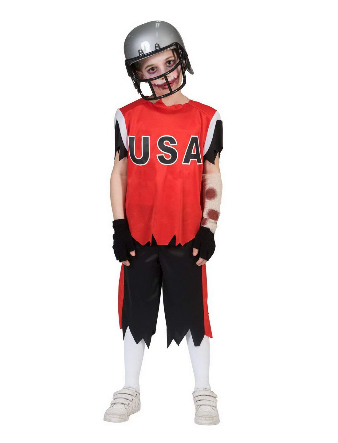 costumebakery - Disfraz Infantil, Zombie American fott Baller ...