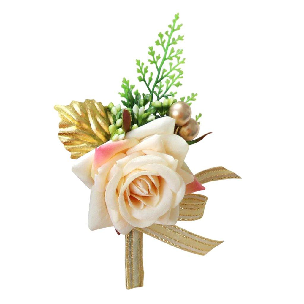 Baoblaze K U Nstliche Rose Blumen Anstecker G A Steanstecker