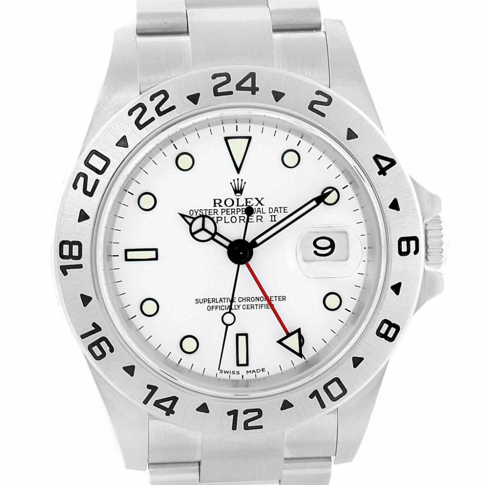 Rolex Explorer II automatic-self-wind womens Watch 16570 (Certified Pre-owned)