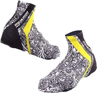 Baoblaze 2X Cubierta de Zapatos de Ciclismo Cubre Zapatillas Multifuncional a Prueba de Polvo para Días de Lluvia Nieve: Amazon.es: Deportes y aire libre