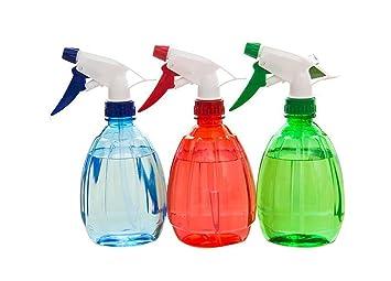 Plástico multiuso riego puede tarro de olla puede botella de Spray de dispersión recipiente herramientas de
