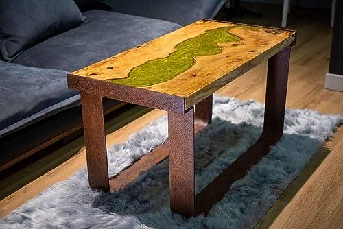 Mesa De Salón Madera Olivo: Amazon.es: Handmade