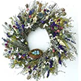 Robins Paradise Wreath With Nest Dried Spring Wreath