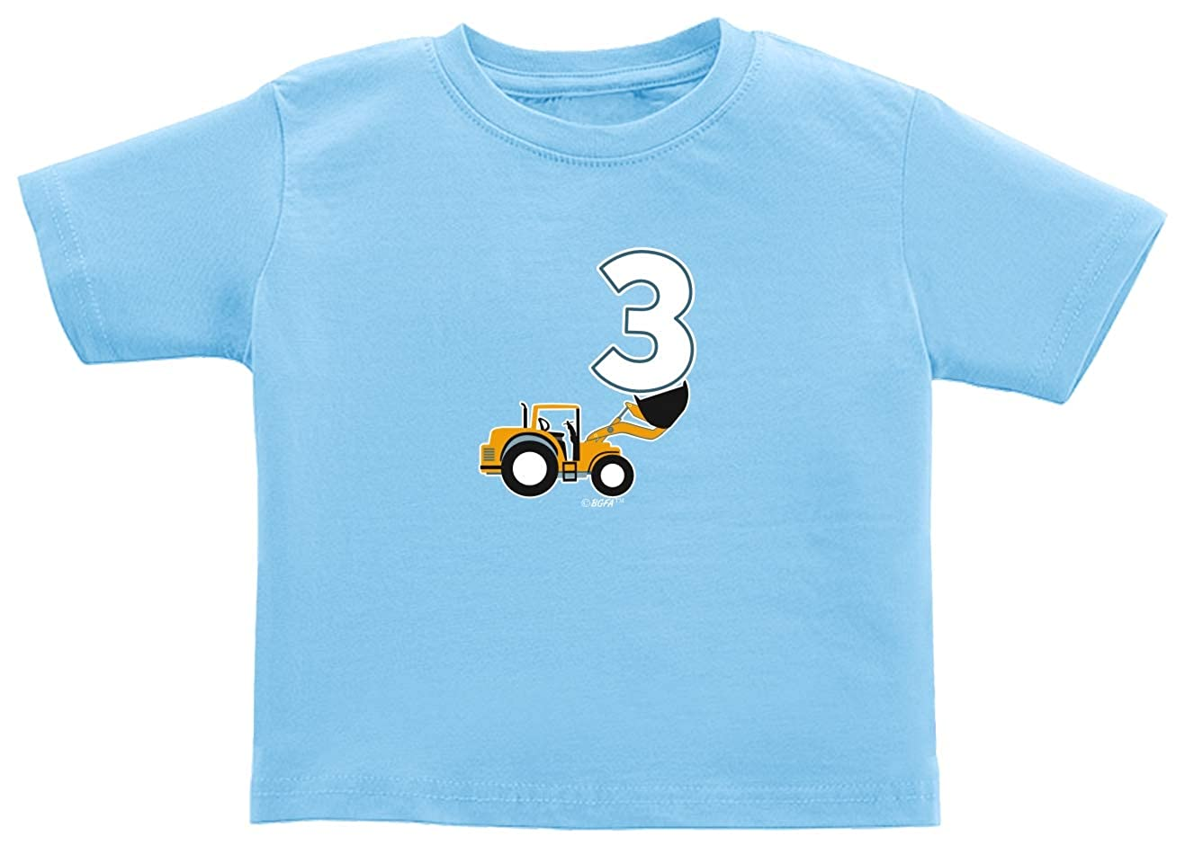 Baby Gifts For All 3rd Birthday Gifts Construction Birthday Toddler Juvy T-Shirt
