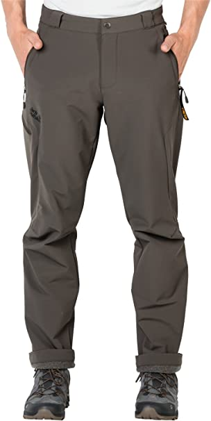 Jack Wolfskin Damen Softshell Hose Activate Thermic Pants Men