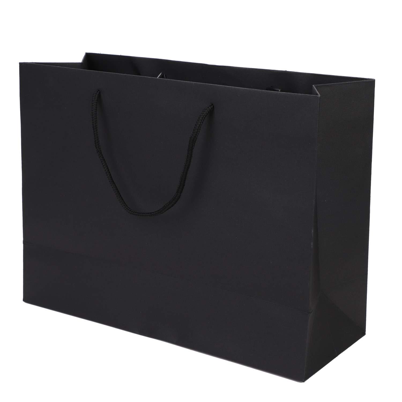 10 bolsas de papel Kraft bolsas de regalo port/átil ecol/ógicas con asa de nailon duradero bolsa de caramelos rectangular bolsa de embalaje para boda cumplea/ños banquete Navidad
