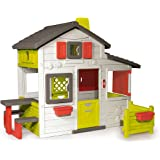 Smoby - 310209 - Jeu de Plein Air - Maison de Jardin - Friends House - Sonnette Electronique Incluse