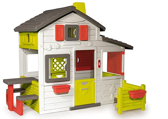 Sommerküche Smoby : Smoby friends haus amazon spielzeug