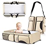 Koalaty 3-in-1 Universal Baby Travel Bag, Portable Bassinet Crib, Changing Station, Diaper Bag for Infants and Newborns…