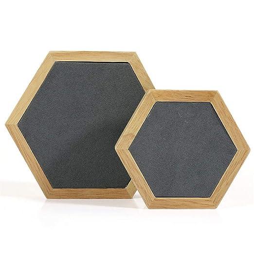 AYHa Madera maciza Collar de madera Joyería Tablero de mesa ...