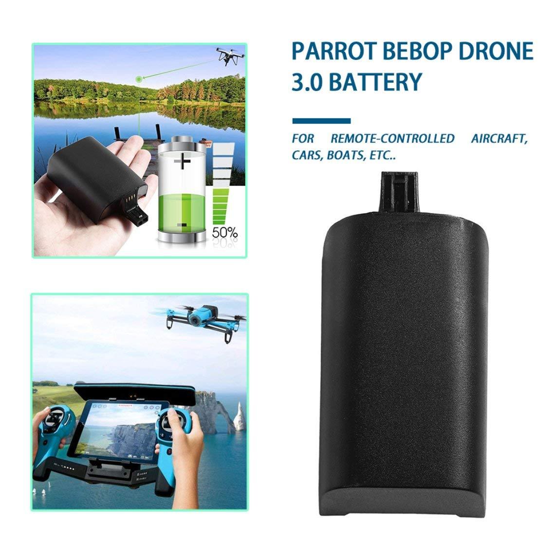 Zinniaya 11.1V 1800mAh Batería Lipo Mejorada para Parrot Bebop ...