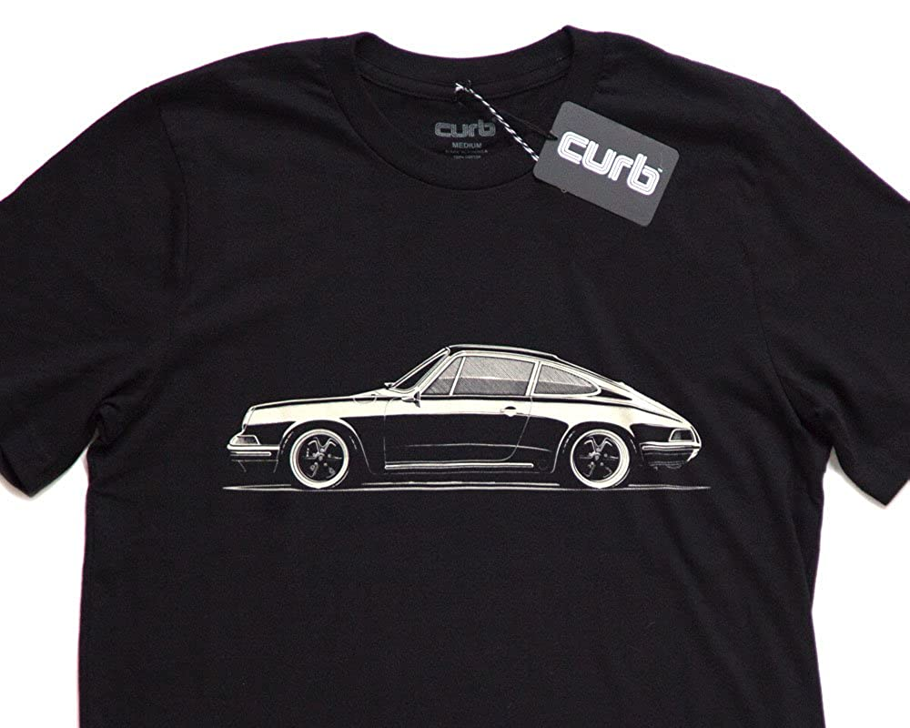 Amazon Curb 1973 Porsche 911 T Shirt Clothing