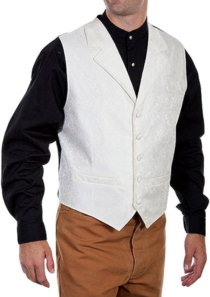 Scully Rangewear Mens Rangewear Paisley Print Vest Big and Tall Rw093x-Teal