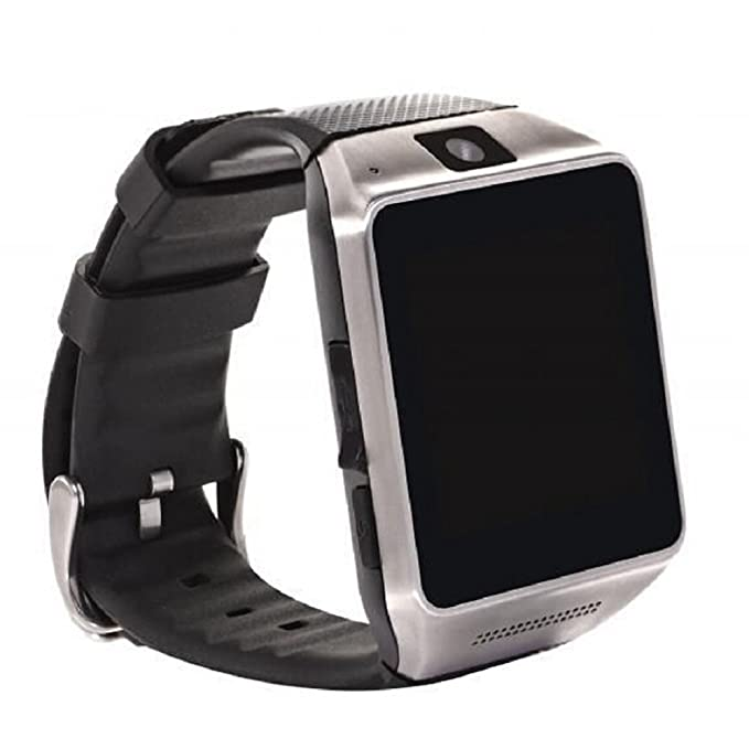 Green House- GV08 SmartWatch Inteligente Reloj Pulsera Bluetooth/NFC con Pulsera de Silicona Negro