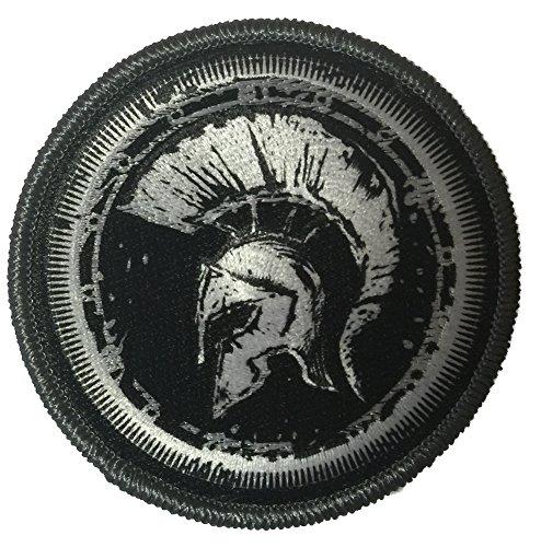 Molon Labe – Helmet – 3″ Circle Tactical Morale Patch – Black