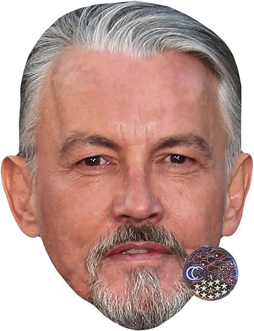 Card Face and Fancy Dress Mask John Mulaney Celebrity Mask