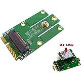 KALEA INFORMATIQUE Adaptateur M.2 (NGFF) vers MiniPCIe (mPCIe) - Pour carte WIFI ou Bluetooth - Compatible Intel 7260NGW