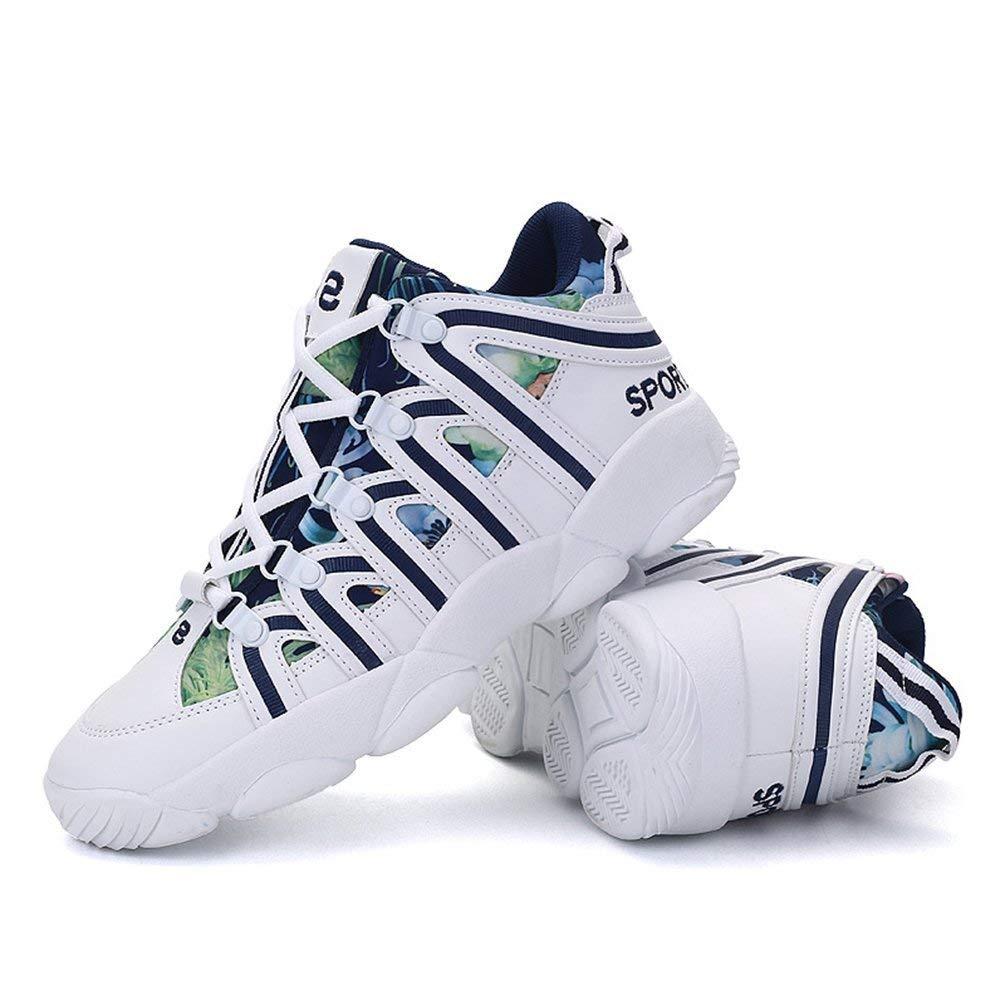 Männer Turnschuhe Herbst Winter Sport Outdoor Walk Walk Walk Run Schuhe für männliche athletische Coole Boy Trainer (Farbe   A11 Weiß Blau, Größe   7 UK) 8b355d
