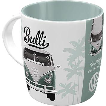 Wohnmobil W Bus in rot Tasse No 4//4  Becher Kaffeetasse Kaffeebecher