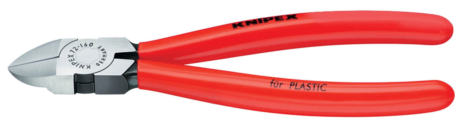KNIPEX 72 01 180 Diagonal Flush Cutters by KNIPEX Tools
