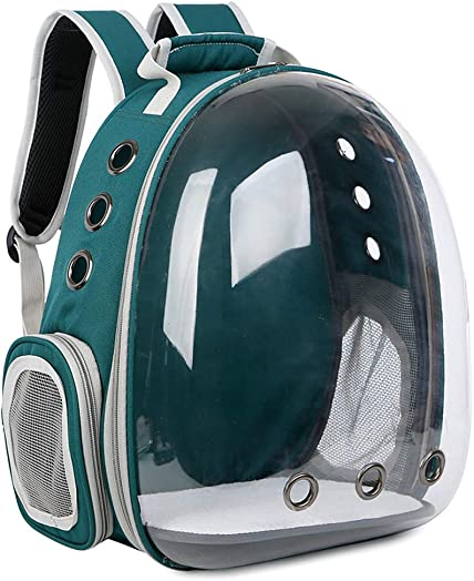 Lvyuanda Breathable Pet Travel Backpack Space Capsule Carrier Bag Hiking Bubble Backpack for Cat Dog