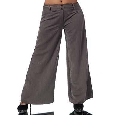 unschlagbarer Preis bester Ort für bieten viel Diva-Jeans H930 Damen Business Stoffhose Elegante Bootcut Hose Classic  Schlaghose Schlag