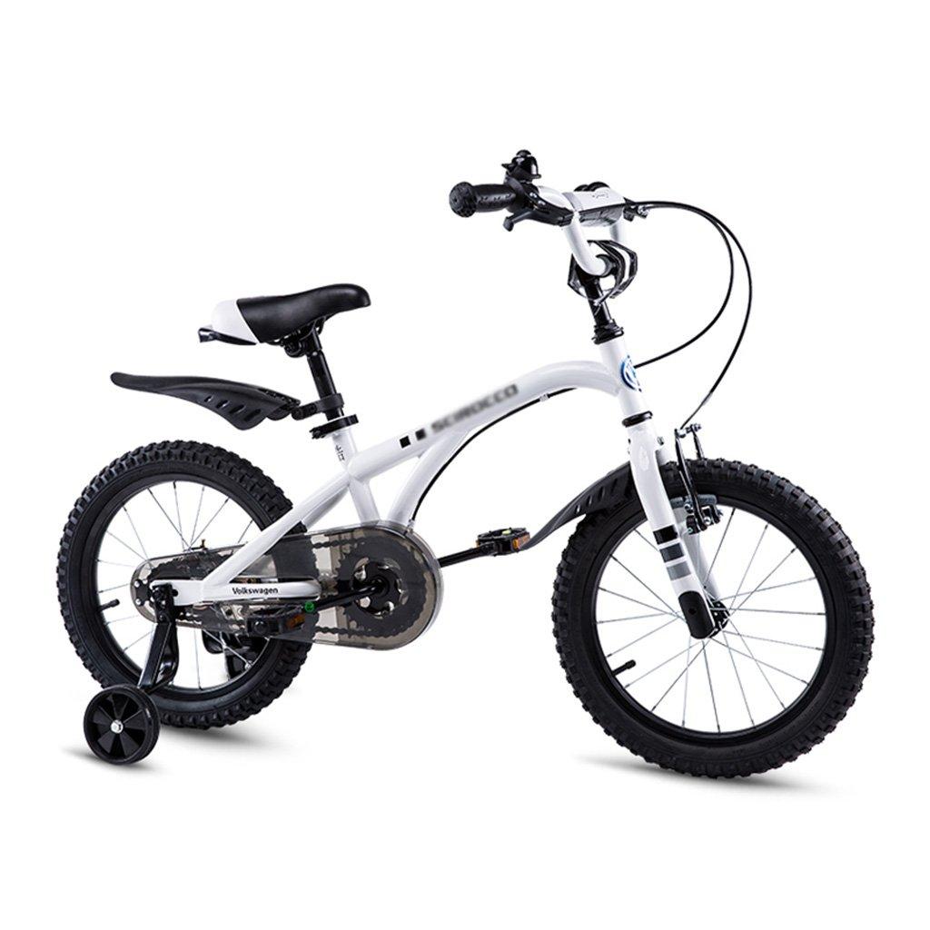 Gai Huaホーム子供用自転車子供のBicycles Volkswagen Children 's Bicycles 12,14,16子供の自転車 B07DQPHZBR  ホワイト 14 inches