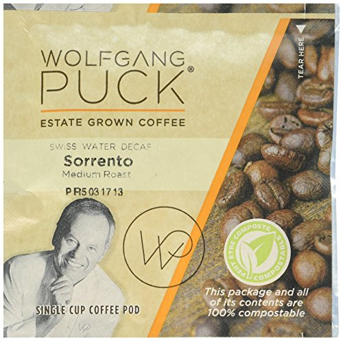 Wolfgang Puck Coffee Sorrento Swiss Water Process Decaf, ...