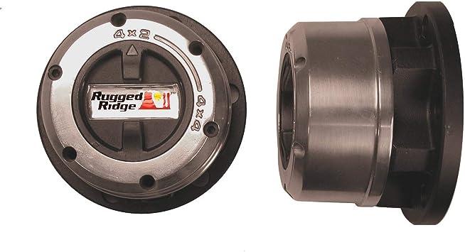 Rugged Ridge 15001.08 16 Spline 6-bolt Mount Manual Locking Hub
