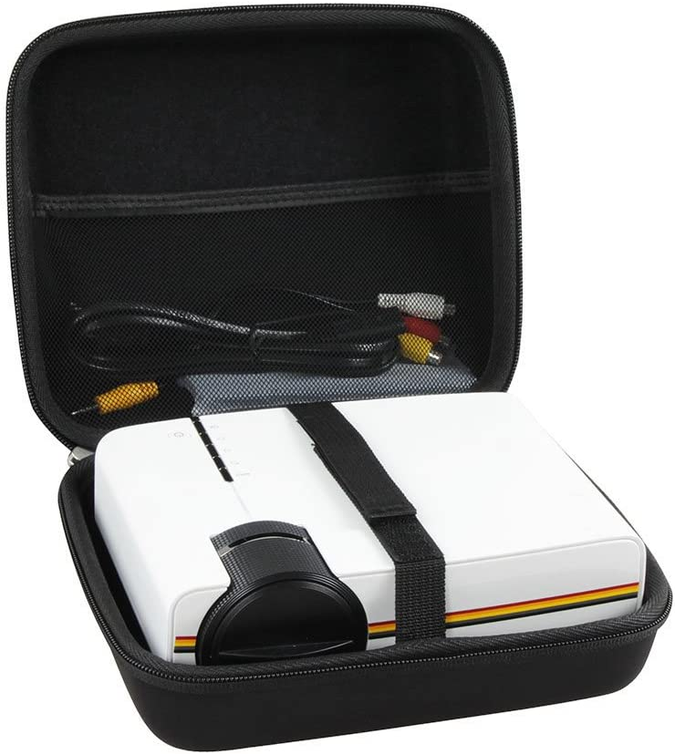Hermitshell Hard EVA Travel Case Fits Meyoung Portable Projector 1080P 1200 Lumens LED Mini Pico Video Projector