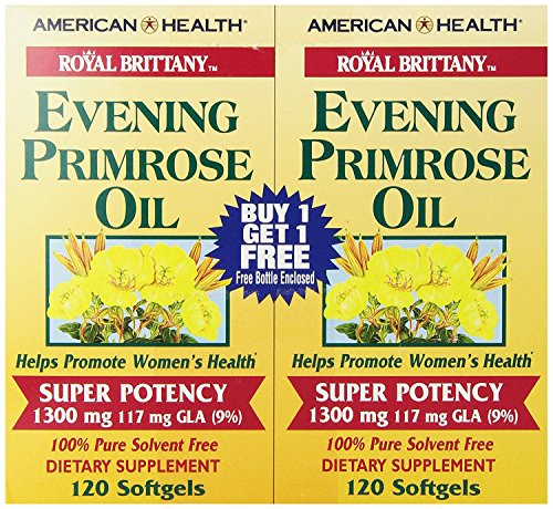 Royal Brittany Evening Primrose Oil (American Health Evening Primrose Oil, 240 count)