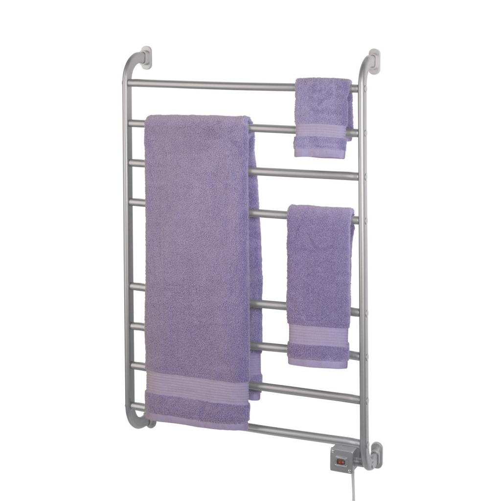wall mount towel warmer. hardwire or softwire wall mounted warmer with a nickel finish. view larger mount towel e