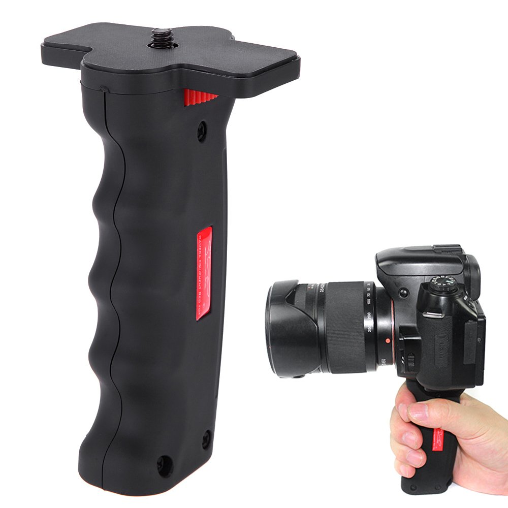 Andoer Wide Platform Pistol Grip Camera Handle with 1/4' Screw for SLR DSLR DC Canon Nikon Sony Iphone Xiaomi Smartphone FBA_3MQ1419418205187D1