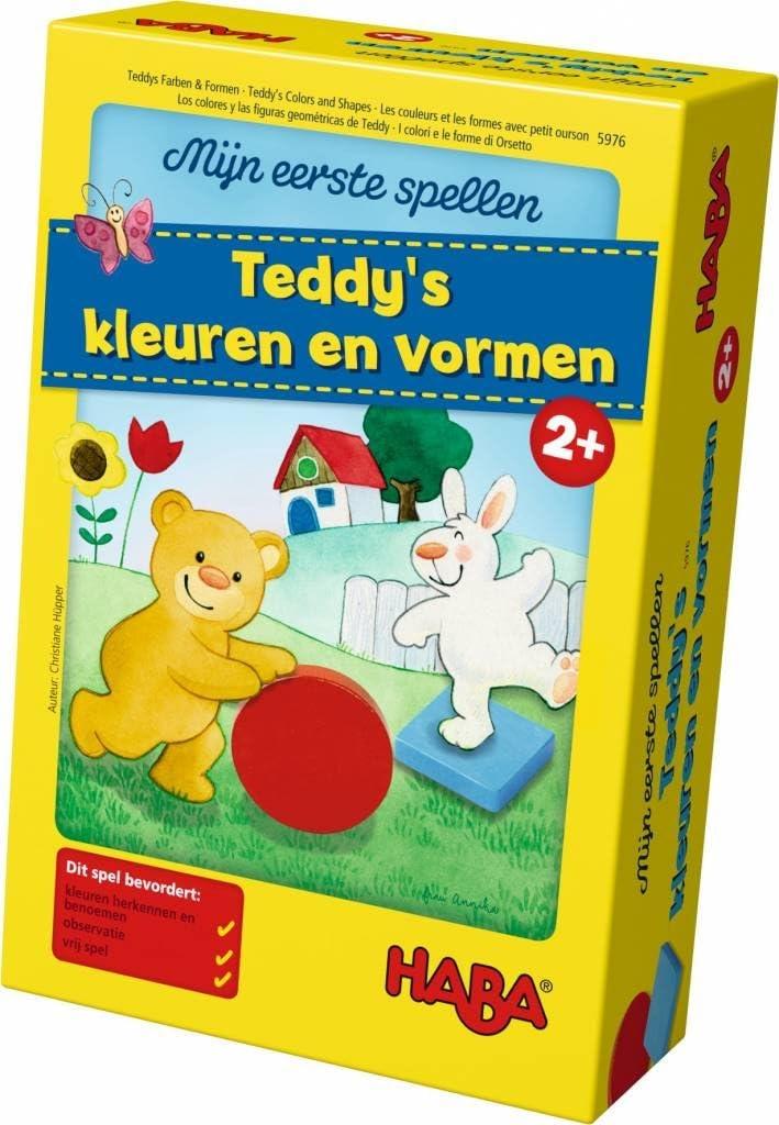 Haba Mijn eerste spellen Teddys kleuren en vormen
