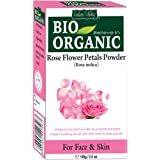 Indus Valley BIO Organic Natural Rose Petals Powder For Glowing Skin & Remove skin impurities