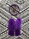 Purple Dreamcatcher - Rear view Mirror Accessory - FREE SHIPPING - Car Dream Catcher