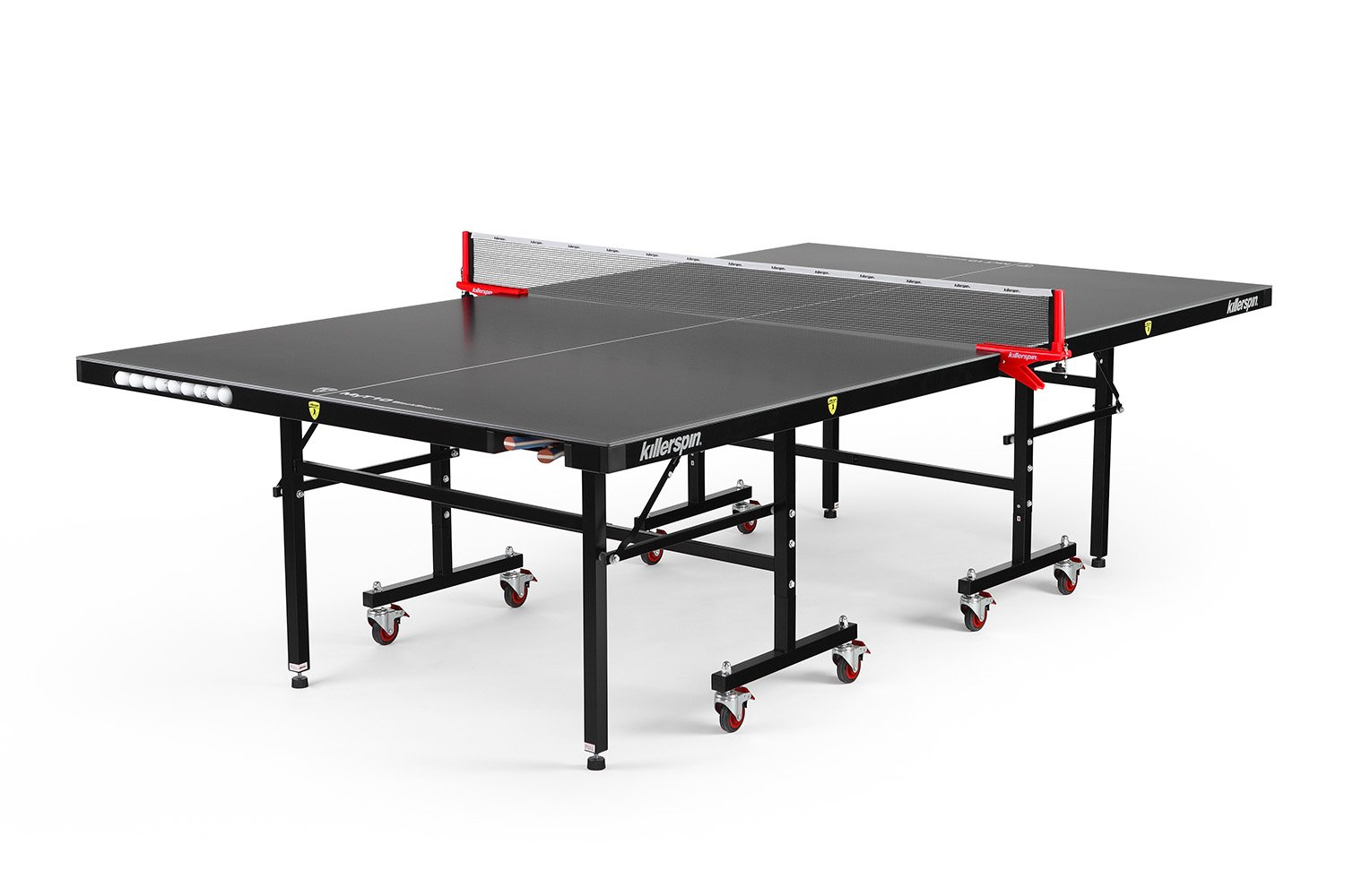 Killerspin MyT10 Blackstorm Table Tennis Table - Completely Weatherproof, Outdoor Table with Great Performance & Durability