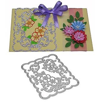 Troquel de flores, plantillas de corte de metal iHPH7, álbum de recortes, manualidades, tarjetas 756: Amazon.es: Juguetes y juegos