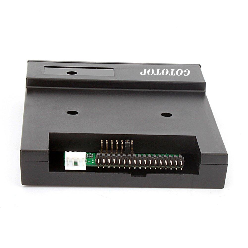 "Floppy & Tape Drives-3.5"" 1.44MB Sfr1m44-u100k Updated Version USB Flash Disk Floppy Drive Emulator + CD Screws Black by GOTOTOP (Image #3)"