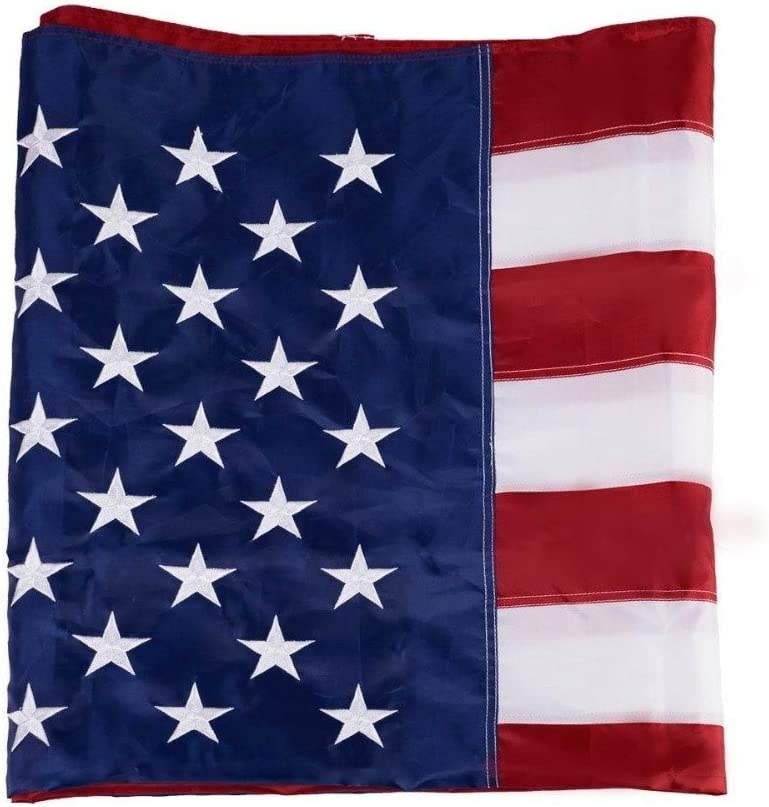 3/'x5/' FT U.S.A US United States American Flag Stars Brass Grommets Polyester USA
