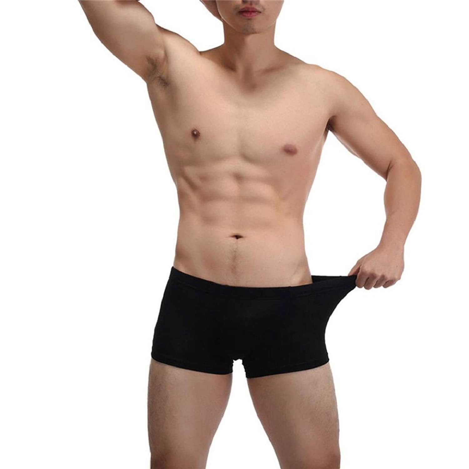 Kolylong Herren Boxer Shorts Sports Athletic Hose Bulge Pouch 8 Farben