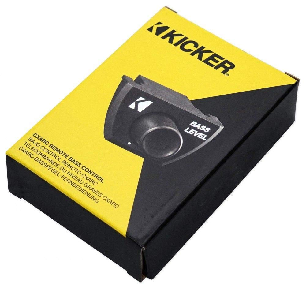 Kicker 43CXARC Bass Remote Control for KICKER CXA-Series/PXA-Serie/CX-Series Amplifiers by Kicker