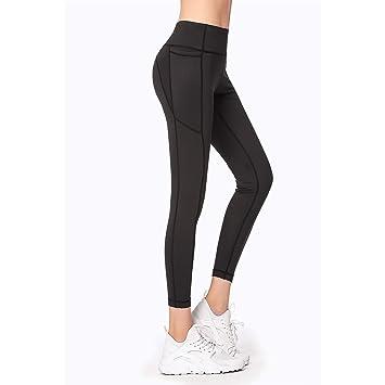 ZMJY Pantalones de Yoga, Polainas Extra Blandas para Mujeres ...