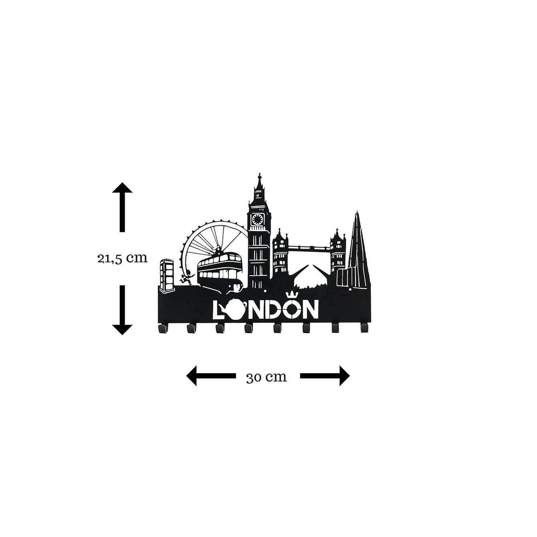 London haken Plätze an