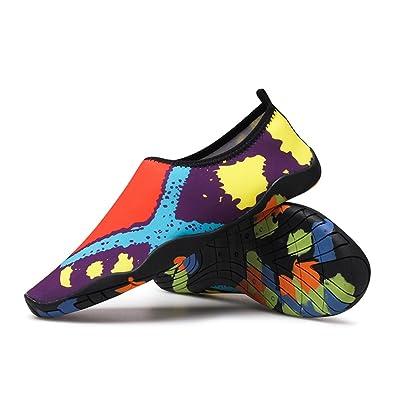 Exing Tauchen Strand Schuhe Sommer Atmungsaktive Soft-Soled Schuhe Schnorcheln Outdoor Männer und Frauen Barfuß Schwimmen Schuhe (Color : C, Größe : 45)