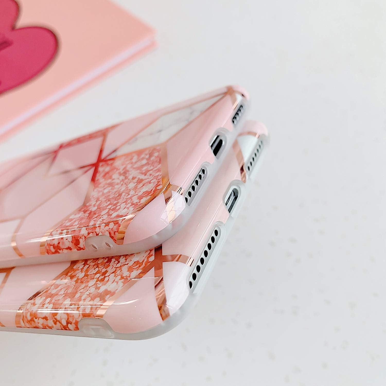 Brillantini Marmo Modello Disegni Morbida Slim TPU Silicone Gel Gomma Bumper Custodia Ultra Sottile Flessibile Antiurto Protettiva Cover,Blu QPOLLY Cover Compatibile con Galaxy A51