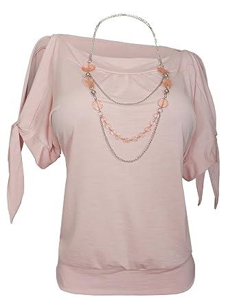 3248145e72167 eVogues Plus Size Off Shoulder Stripe Print Top at Amazon Women s ...