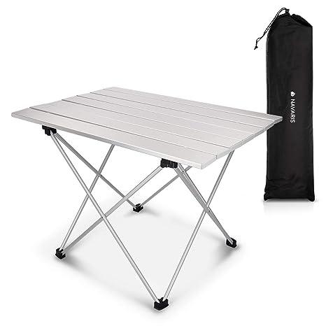 Tavolino Campeggio Pieghevole Alluminio.Navaris Tavolo Pieghevole In Alluminio Tavolino Portatile