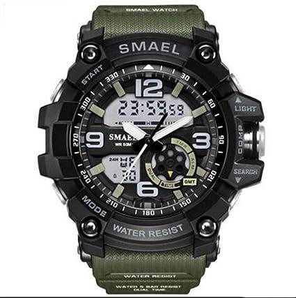 Reloj Electrónico Masculino Multifuncional Fuerzas Especiales Mecánico Agudo Borde Ataque Táctico Reloj Militar Deportes Estudiante De